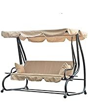 Solid Outdoor Waterproof Summer Garden Courtyard Swing Awning Solid Swing Tent Gazebo Canopy Outdoor Tools and Accessories