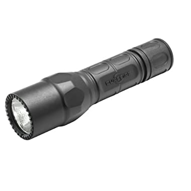 SureFire G2X Pro Dual-Output LED Flashlight with click switch, Black