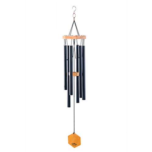 Wind Chimes for People Who Like Their Neighbors, Give a Thoughtful Memorial Gift or Love it as Your own Unique Outdoor Windchime, Made of Aluminum/Bamboo, a Beautiful Hand Tuned Chime