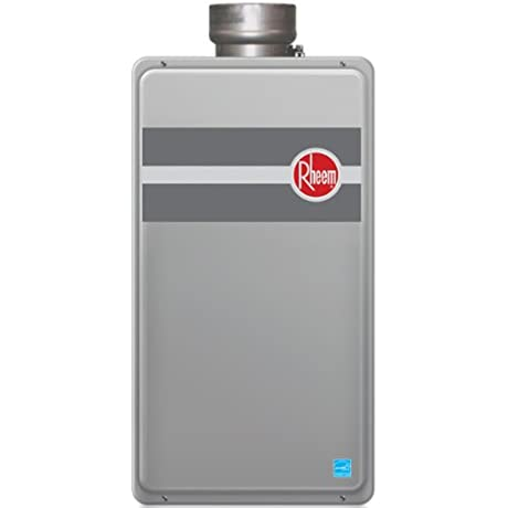 Rheem RTG 84DVLN 8 4 GPM Low NOx Direct Vent Tankless Natural Gas Water Heater