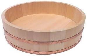 Amazon.com: Sushi Oke Hangiri - Cuenco de madera para mezclar arroz: Kitchen & Dining