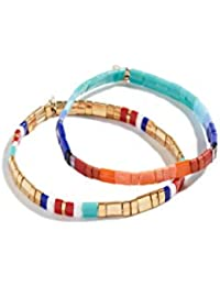 SHASHI Women's Tilu Set of 2 Bracelets
