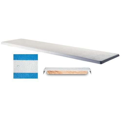 Interfab 6' Techni-Beam Diving Board - Blue with White Top Tread - NO Holes