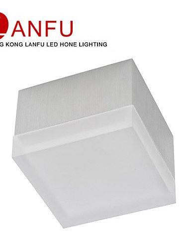 FAYM-Couverte De Cristal De La Lampe De Plafond éclairage Intérieur , blanc-220-240V