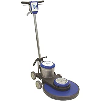 NaceCare NA2020 Heavy Duty Steel High Speed Floor Burnisher, 20  Brush, 2000 rpm, 1.5Hp , 50  Power Cord Length