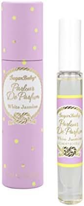 SugarBaby Perfume Roll on Perfume White Jasmine, 021 Fl. Ounce