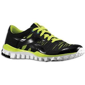 Reebok Women's Realflex Fusion Training Shoe B008X6I4A6 8.5 B(M) US|Charged Green/Buzz Blue/White