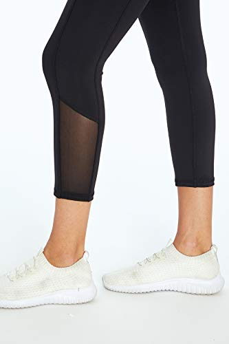 Jessica Simpson Sportswear Ace Pocket Capri Legging, Meteorite, Small