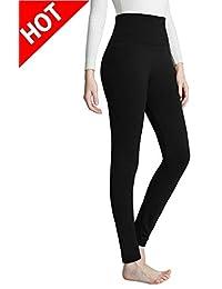 Women's Fleece Lined Leggings High Waist Leggings - Ultra Soft Warm Best Leggings