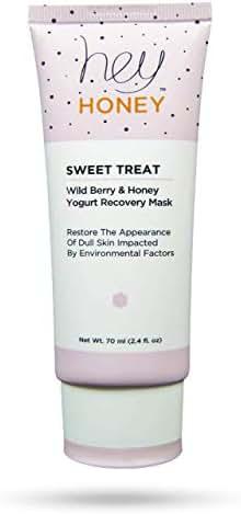 Hey Honey Sweet Treat Wild Berry & Honey Yogurt Recovery Mask, 2.4 Fluid Ounce