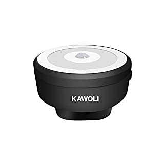 Security Wi-Fi Video Doorbell Receiver, KAWOLI Smart Wireless Doorbell Camera Receiver, Human Induction Night Light Function (Black Receiver)
