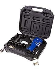 Ford 1/2 Inch Air Impact Driver Wrench Kit, 1/2 Inch Square Drive High Pneumatic/Compressor Tool with 10 Impact Sockets