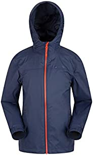 Mountain Warehouse Torrent Kids Waterproof Rain Jacket - Boys & G