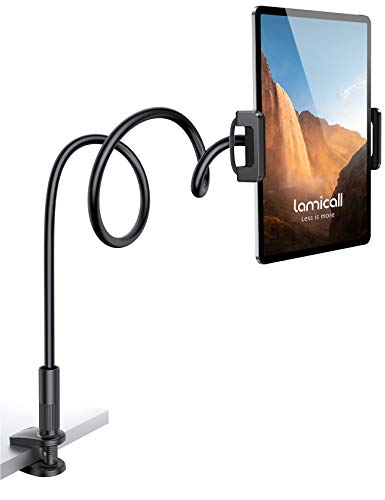 Lamicall Tablet iPad Holder Mount for Bed…