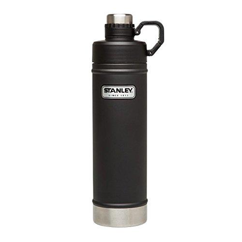 Stanley Classic aislado al vacio de acero inoxidable botella de agua–0 70L | color negro mate