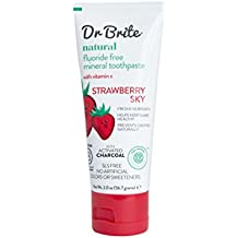 Dr. Brite Natural Whitening Toothpaste, Strawberry Sky, 2 Ounce