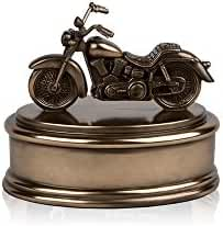 Perfect Memorials Small Motorcycle Cremation Urn Highly Detailed
