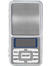 Digitale zakschaal, mini gram schaal elektronische sieradenweger, draagbare zak mini-schaal perfect voor keukenvoeding 0.01 g 500g (geen batterij)
