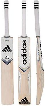 adidas Cricket XT 4.0 White Kashmir Willow Cricket bat - Men's Size, Short Ha