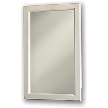 Jensen 8120X Classic White Frame 17 375 By 27 375 Medicine Cabinet 17 37 X 27 37