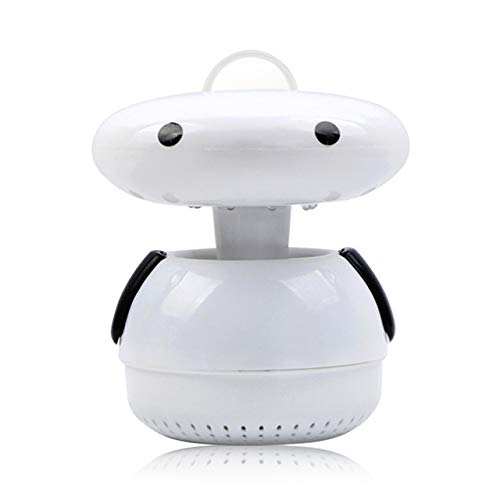 Home USB Photocatalyst LED Mosquito Repellent Silent Design Mosquito Trap for Pregnant Women Baby Indoor Outdoor Use   Black, United States