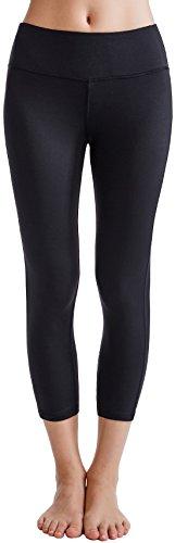 Yoga Products : Oalka Women's Yoga Capris Power Flex Running Pants Workout Leggings