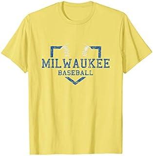 Vintage Milwaukee Baseball | Brewer Baseball Retro Gift T-shirt | Size S - 5XL
