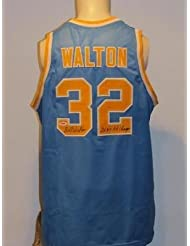 19064f547 Signed Bill Walton Jersey - Custom Ucla Bruins - PSA DNA Certified -  Autographed NBA Jerseys