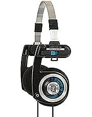 Koss 6303157 Porta Pro Classic - Ultra Portable, Collapsible stereo koptelefoon, Zwart, Eén maat