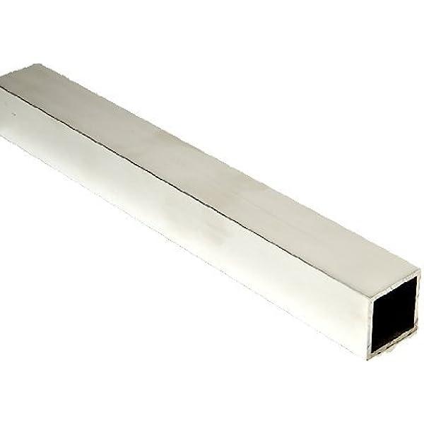 """6061-T6 1/"""" x 72/"""" Aluminum Square Bar"""