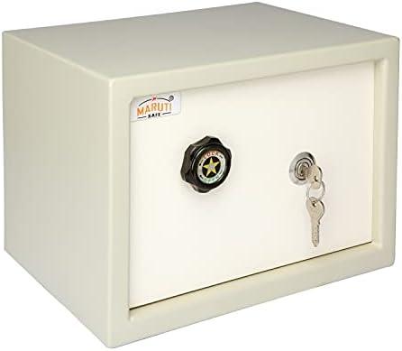 "LAXMI KAPAT Safe/Ultra Safe/Security Safe/Key Locker Safe (H - 09"" X W - 12"" X D - 09"" - inch, Powder Coated Finish, Mild Steel)"