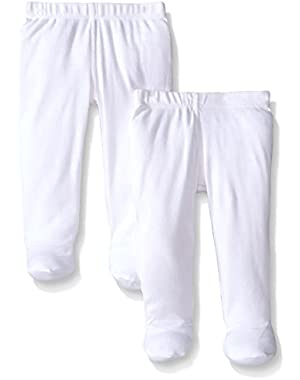 Set of 2 Organic Footed Pants