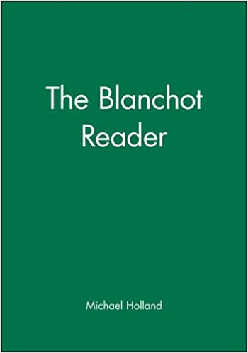 blanchot writing of the disaster pdf free