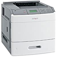 LEXMARK t652dn monochrome laser printer 50ppm 1200dpi 128mb 550-sheet tray usb 2.0 ethernet