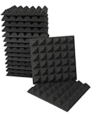 الواح صوتية من الفوم، 16 قطعة، مقاس 30×30×5 سم