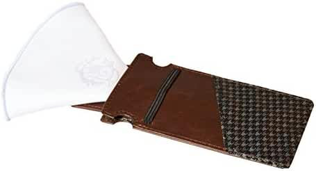 Chocolate Men's Tanned-Vegetable Leather Wallet, The Maverick