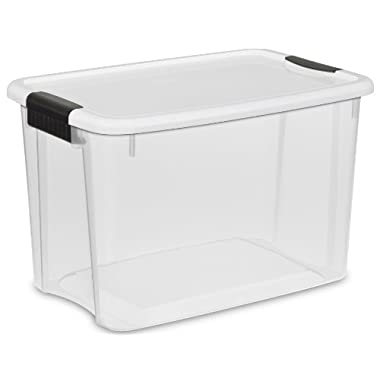 Sterilite 1985 - 30 Quart Ultra Storage Box (Pack of 6)