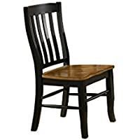 Quails Run Rake Back Side Chair - Set of 2