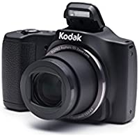 Kodak PIXPRO Friendly Zoom FZ201 16 MP Digital Camera with 20X Optical Zoom and 3 LCD Screen (Black)