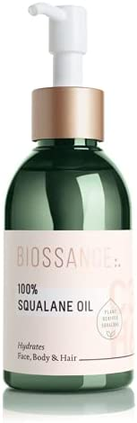Biossance 100% Squalane Oil. Sustainable, Pure and Vegan Facial and Body Squalane Oil Derived from Sugarcane.