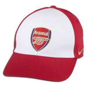 ccd53bcdfa2 ... best price 2011 12 arsenal nike core baseball cap red white 9224f 62111
