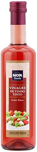 Vinagre de Vinho Tinto Nor Foods 500ml