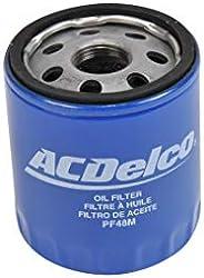 Filtro de Aceite ACDelco Apto para Varios Modelos, 000PF48M, Único, Único