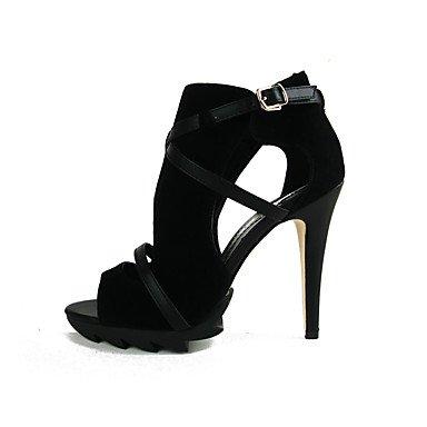 LvYuan-ggx Da donna-Tacchi-Casual-Comoda-A stiletto-Felpato-, nero, nero, stiletto-Felpato-, us7.5 / eu38 / uk5.5 / cn38 - b12179