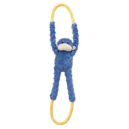 ZippyPaws Monkey RopeTugz Squeaky