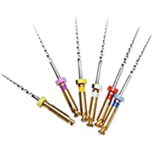 Enshey Universal NiTi Files Large Tapered Endodontic Rotary File Dental Endodontic Niti Rotary Files Universe Engine SX-F3 25MM Mixed
