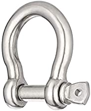 Screw Pin Anchor Shackle 1/2 Inch 12mm 304 Stainless Steel Heavy Duty 1pcs