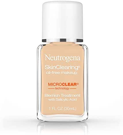 Neutrogena Skinclearing Makeup, 85 Honey, 1 Fl. Oz.
