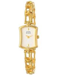 Titan Women's 2104YM01 Raga Inspired Gold Tone Watch