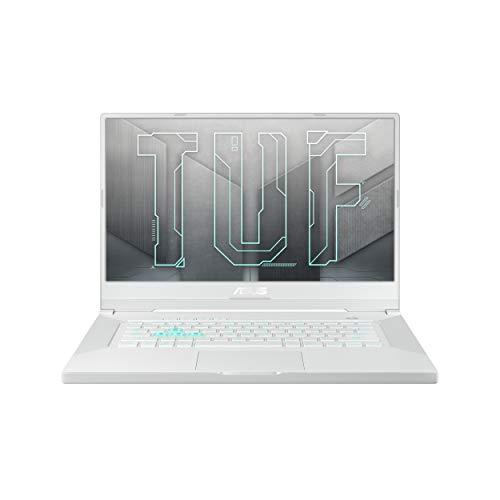 ASUS TUF DashF15 -2021 15.6″ FHD 240Hz/3ms, Intel Core i7-11370H 11th Gen, GeForceRTX 3070 8GB Graphics, Gaming Laptop (16GB/1TB SSD/Office 2019/Windows 10/Moonlight White/2 kg), FX516PR-AZ024TS